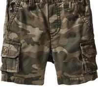 Canvas Cargo Shorts for Baby