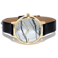 Carrara Gold and Black Watch