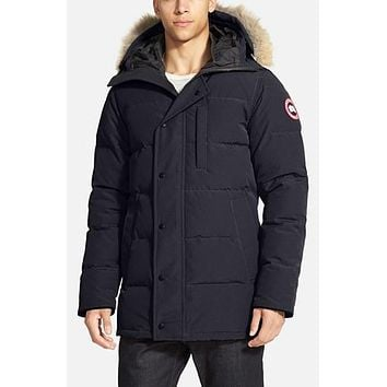 Parka with Genuine Coyote Fur Trim,