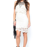 Maisie Crochet Dress - FINAL SALE