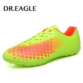 DCK7YE DR.EAGLE Professional soccer shoes Kids' Indoor futsal football boots, TF Turf Racing