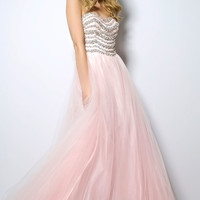 Jovani 81083 Jeweled Top Ball Gown Prom Dress  SALE $450