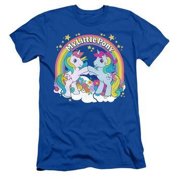 My Little Pony Slim Fit T-Shirt Windy and Moonstone Royal Tee