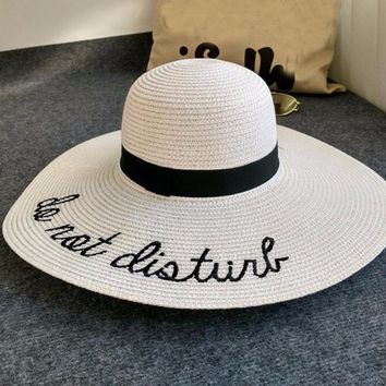 Summer Beach Hat Wide Brim Floppy Hats for Women Sun Hat Wide Fedora Hat Trilby