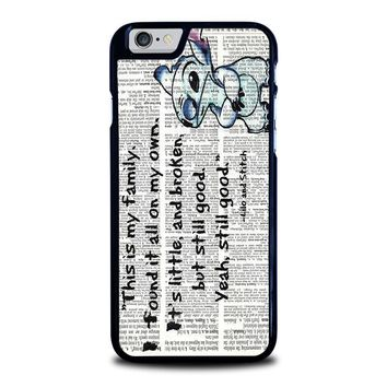 LILO AND STITCH QUOTES Disney iPhone 6 / 6S Case Cover