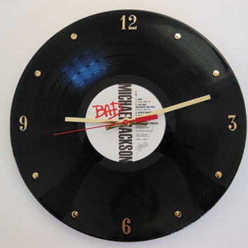 MICHAEL JACKSON Record Clock (Bad)