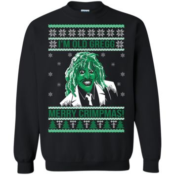 i'm old gregg merry crimpmas - the mighty boosh sweater, T-Shirt