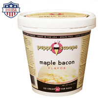 Puppy Scoops Ice Cream Mix - Maple Bacon Flavor