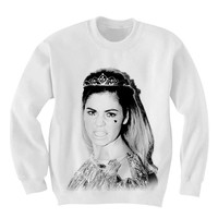 Marina and the Diamonds Sweatshirt - Marina Diamandis Unisex Ladies Mens Hipster Oversize Sweater - FAN0013 MARINA CHEESING