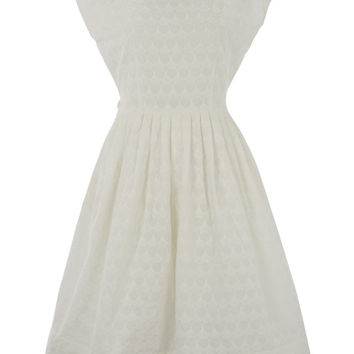 Broderie Anglaise Prom Dress by Lowie