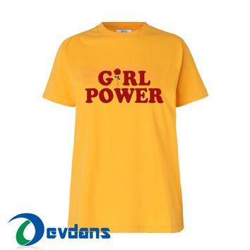 Girl Power T Shirt For Women and Men Size S - 3XL