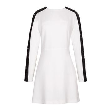 Sandro Raphaelle Fringe Sleeves Dress at Sandro US
