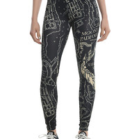 Harry Potter Marauder's Map Leggings