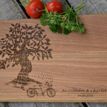 Wedding Gift Personal Engraving For Wedding Cutting Board Housewarming Gift Wooden Cutting Board Cookware  Bridal Shower Gift