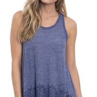 Out Of The Blue Embroidered Tank Top