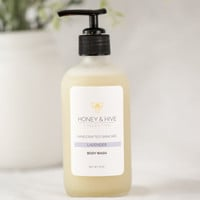 Organic Lavender Honey Body Wash