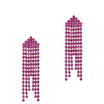 MARISSA EARRINGS IN FUCHSIA