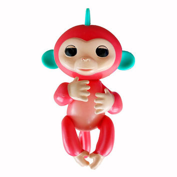 New Fingerlings baby monkey Red | Tophatter