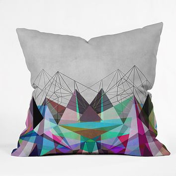 Mareike Boehmer Colorflash 3Y Throw Pillow