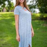 Fair Skies Dress, Sky Blue