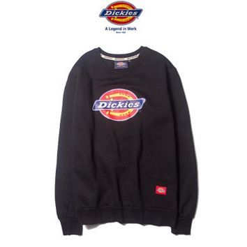 Dickies Fashion long sleeve sweater thick Black
