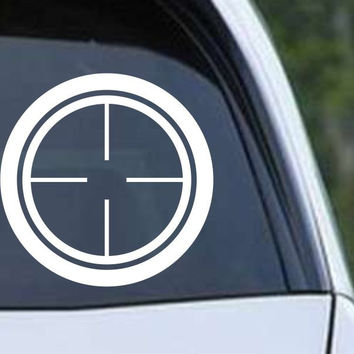 Crosshair Scope Hunting Target HNT1-4 Die Cut Vinyl Decal Sticker