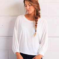 Free People Sugar Rush Tee - Ivory