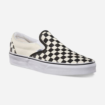 VANS Checkerboard Slip-On Shoes