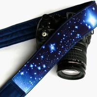 Starlight Night Camera Strap. Galaxy Camera Strap. DSLR Camera Strap. Space Camera Strap. Camera Accessories
