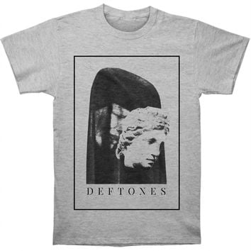 Deftones Men's  King Mask T-shirt Heather