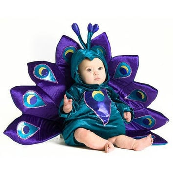 Baby Peacock Infant / Toddler Costume - 6/12 Months