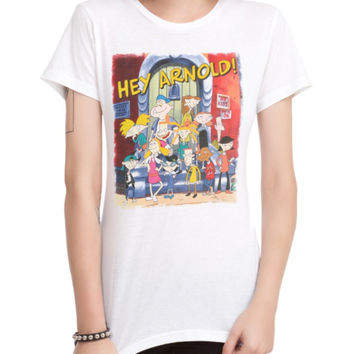 Hey Arnold! Group Girls T-Shirt