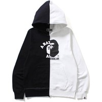 COLLEGE X BY BATHING FULL ZIP HOODIE MENS