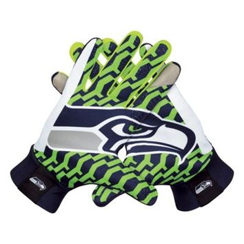Nike Seattle Seahawks Stadium Gloves - College Navy