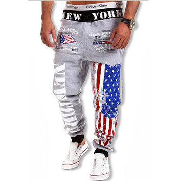 American Flag New York Joggers