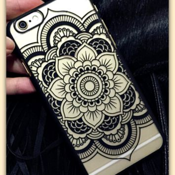 "Hot Vintage Lace Floral Iphone 6 Plus Case Cover ""FREE SHIPPING"""
