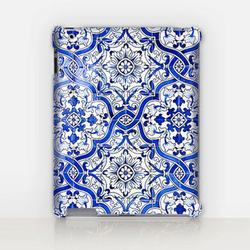 Antique Tiles iPad Case For - iPad 2, iPad 3, iPad 4 - iPad Mini - iPad Air - Tiles - Vintage Tiles - Antique Tiles - Boho Case - Bohemian