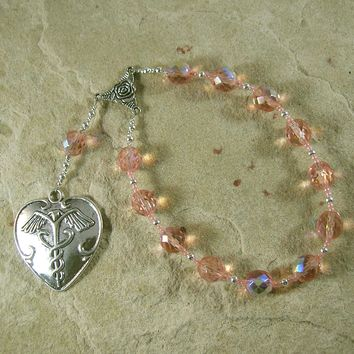 Panacea (Panakeia) Pocket Prayer Beads: Greek Goddess of All Cures and Remedies