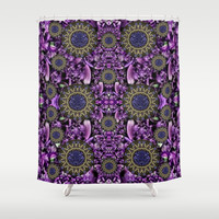 Flowers from paradise in fantasy elegante Shower Curtain by Pepita Selles