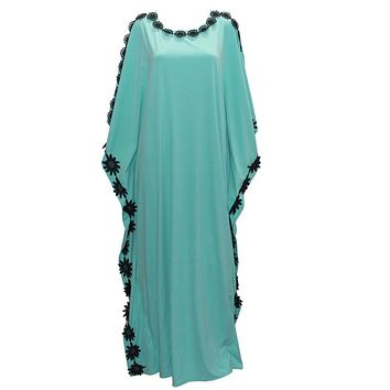 new casual design kaftan women dress plus size african style