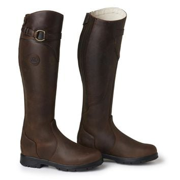 Mountain Horse Ladies Spring River High Rider Boot - Brown