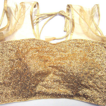 Readymade glittery saree blouse golden silver and black color - All Sizes - Sari Blouse - Saree Top - Sari Top - For Women