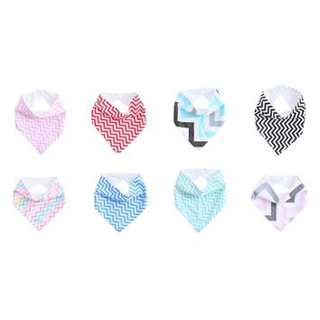 Infant Kids Baby Saliva Towel Triangle Head Scarf Bandana Dribble Feeding Bibs
