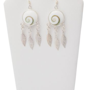 Aira Dream Catcher Earrings, 925 Sterling Silver
