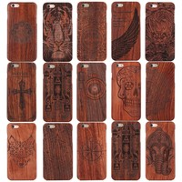 Design Wood Case for iPhone