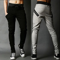 Slim Fit Harem Sweatpants - HipHop Style