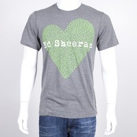Ed Sheeran Webstore - x Heart Juniors T-Shirt | EdSheeran.com