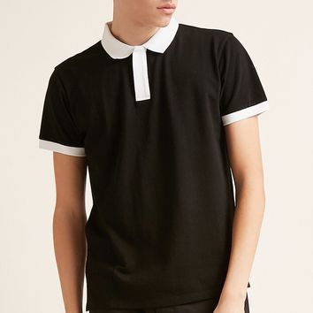 Contrast-Trim Polo