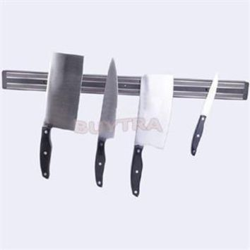 High Quality Magnetic Kitchen Knife Scissor Holder Tools Chef Rack Wall Mounted Strip 33cm