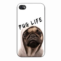 Funny Pug Life 3 iPhone 4/4s Case